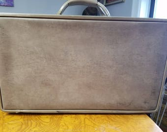 Vintage Leather Hartmann Small Leather Suitcase