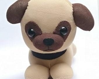 Pug Sock Doll