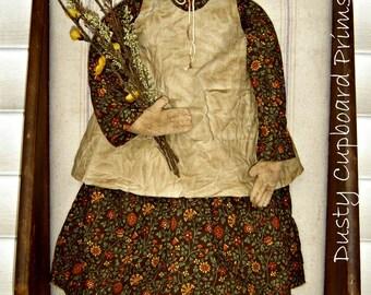 Prairie Doll E-pattern