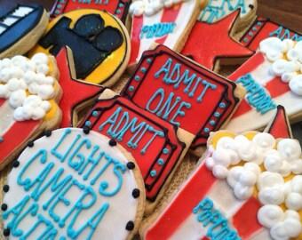 Movie night cookies
