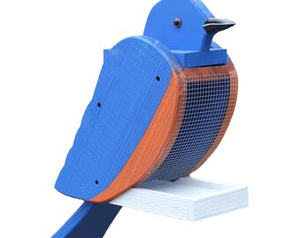 Amish Made Blue Bird Feeder-FREE SHIPPING