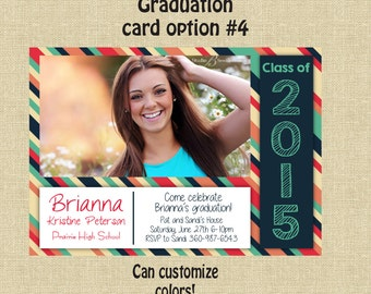 Graduation Party Invite- custom- 5x7