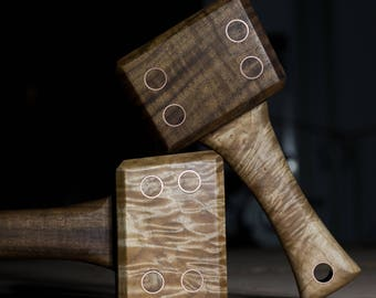 Premium Woodworking Mallet, Lie Nielsen, Veritas, Exotic Hardwood Mallet, Best Wood Mallet, Best Mallet, Gift For Dad, Fathers Day, Gift Him
