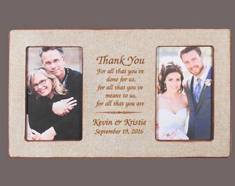 Wedding gift parents | Etsy