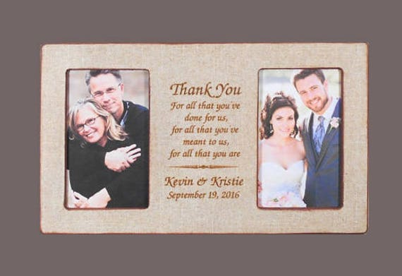 Wedding gift parents personalized wedding gift parents bride junglespirit Images
