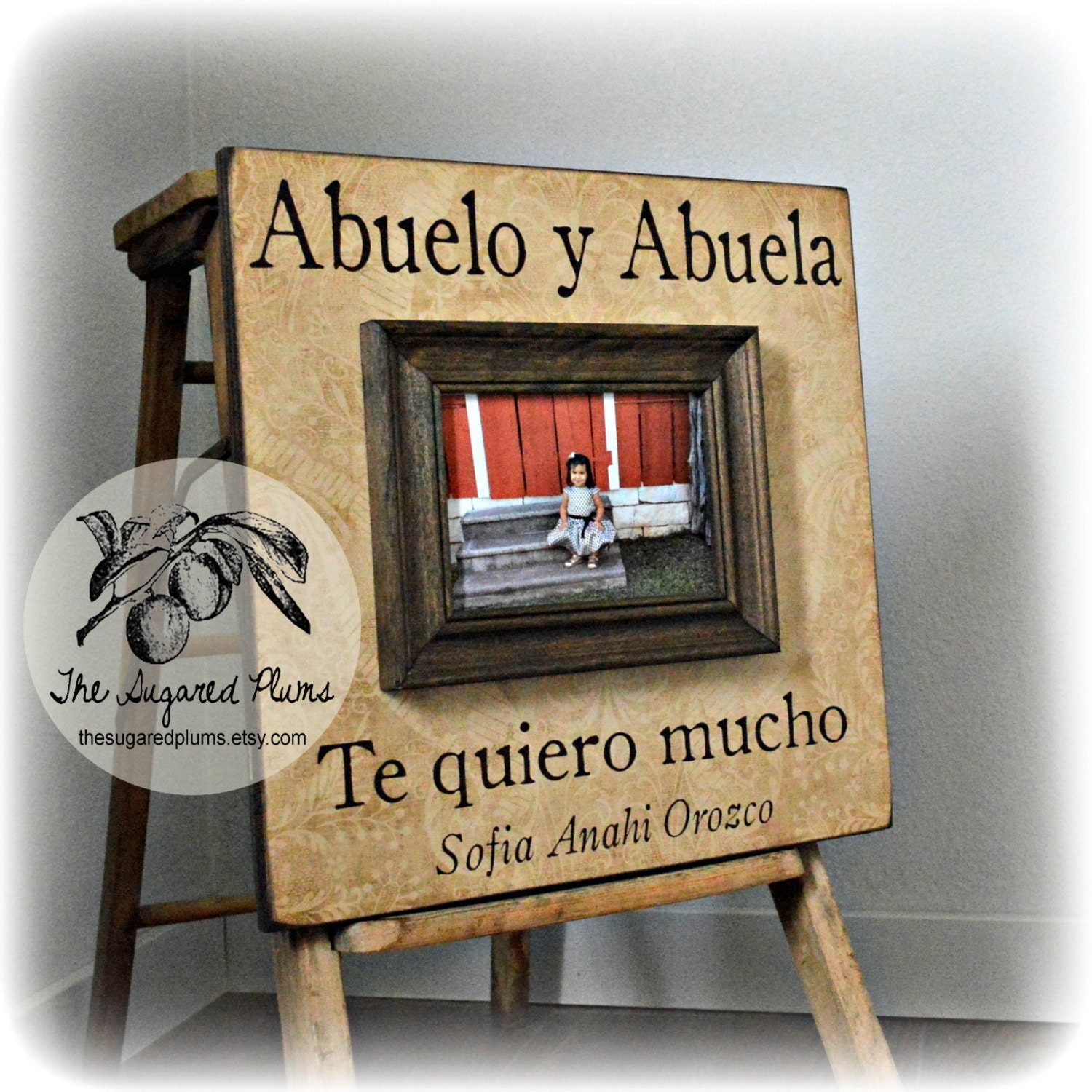 Abuela spanish grandparents frame grandpa grandma zoom jeuxipadfo Choice Image
