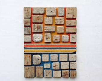 Wood Wall Art | Large Wall Art | Driftwood Art |Wood Sculpture | Abstract | Home decor | Beach art | Rustic | Driftwood | Wall Hanging |