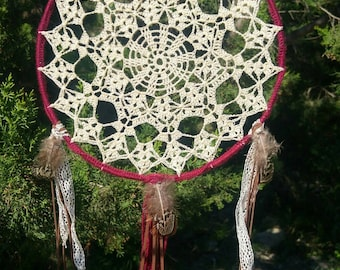 Dream catcher boho hippie crochet