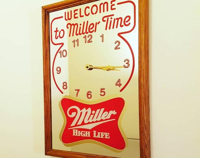 Miller Time Wall Clock
