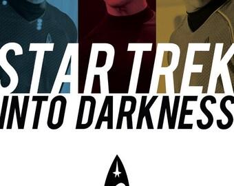 Star Trek Into Darkness Film Poster