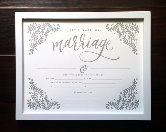 how to get a marriage certificate in south africa