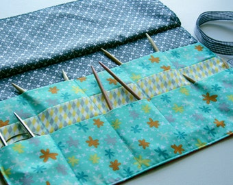 Circular Knitting Needle Wallet PDF Pattern