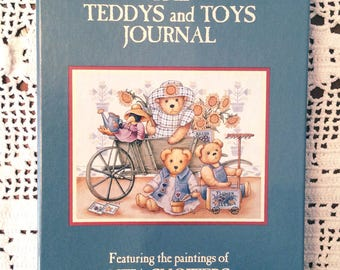 Lang Companies 1994 TEDDYS and TOYS JOURNAL Artist Nita Showers Teddy Bears Vintage