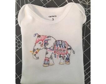 Embroidered Onesie