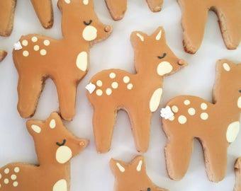 Oh deer (s)he's almost here cookies