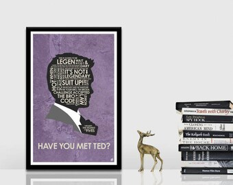 How I met your mother - Barney Quote Poster
