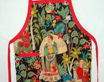 Frida in Her Garden Apron
