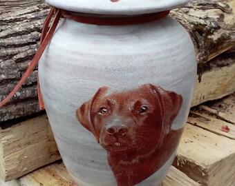 Dog Urn Labrador Retriever Urn