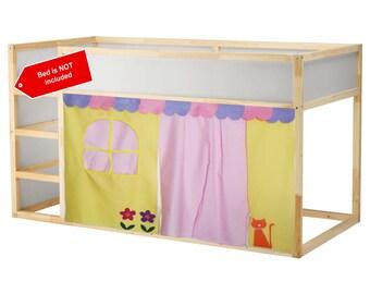 Cute Bed Tent Loft Curtain