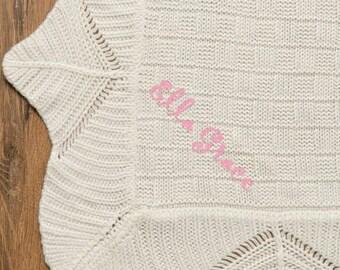 Christening Blanket - Baby Blanket