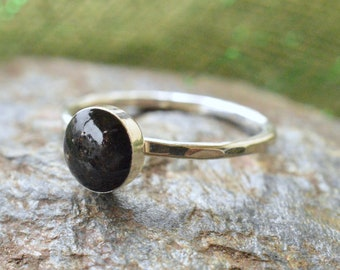 Genuine Irish Earth/Soil Rings- Made from Real Irish soil and sterling silver- Wear a Wee Bit of Ireland on your finger