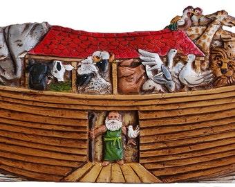 Noah's Ark Door Topper