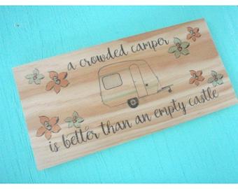 RV Decoration - Camper sign -  Camper decor -  Camping sign -  Rv decor -  Travel trailer decor - Glamping decor -  Gift for camper