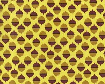 Michael Miller Norwegian Woods  ACORNUCOPIA Forest fabric - 1 yard