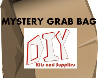 Mystery Grab Bag, Surprise Jewelry supplies, Mystery supply grab bag, Free Shipping, Clearance jewelry supplies