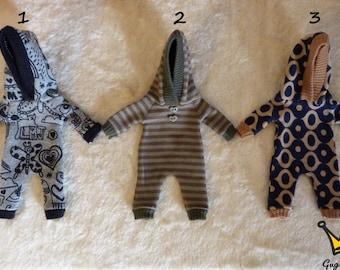 Pukifee/lati yellow boy pyjamas overall
