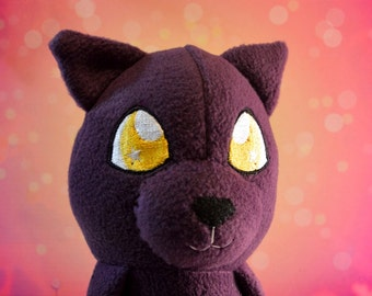 Twilight Kitty, 20in Plush Cat doll