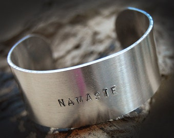 Aluminum 25mm cuff bracelet