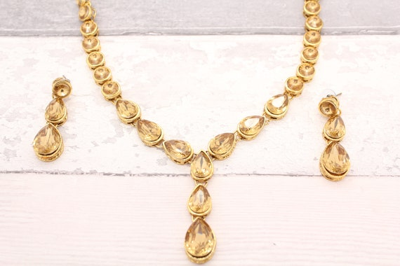 necklace lightweight m weighted off listing gold poshmark jewelry light