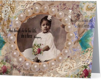 Little Miss Sweet Pea - Vintage Inspired