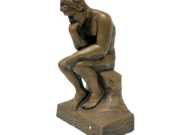 Neoclassical Thinker Statue