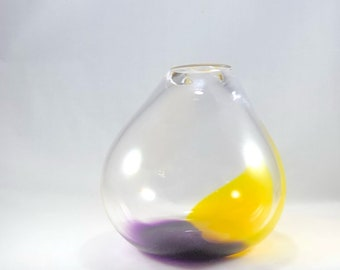 Blown Glass Vessel