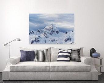 Snowscape - Photography on Canvas
