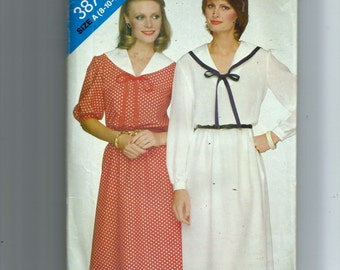 Butterick Misses' Dress Pattern 3873