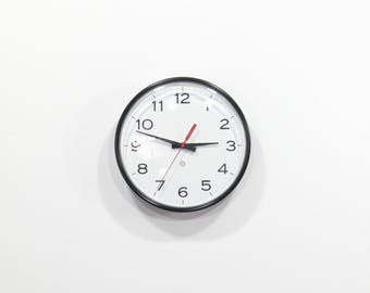 Vintage Industrial Modern Peter Pepper Products Wall Clock