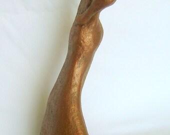 Abstract Figure/Original Ceramic Sculpture/6x10 inches