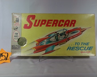 1962 Milton Bradley SuperCar board game