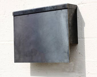 The Gibson Mailbox - Steel Modern Metal Letter Box