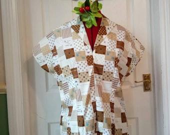 SALE Vintage inspired Sophia blouse-size 14-16