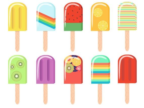 popsicle digital clip art rh etsy com clipart popsicle stick popsicle clipart png