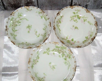 Vintage - Haviland Limoges - Fruit Bowls (3)