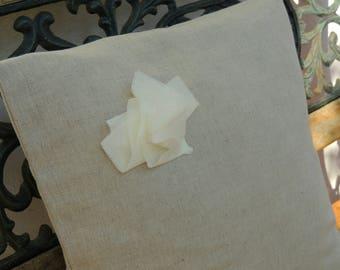 Linen pillow cover - Linen flax cushion - Linen throw pillow - Decorative cushion - Linen home decor - Natural cushion cover - Cushion cover