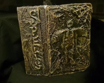 Halloween apothecary book miniature