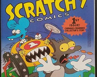 Itchy & Scratchy Comics #1 (1993) Comic Book