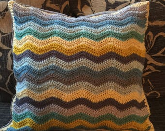 Crochet-customised cushion cover