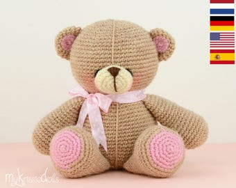 Crochet Pattern - My Krissie Bear